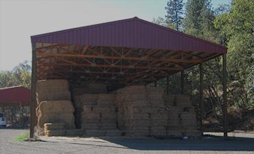 Hay Barns - Pole Barn Construction, Southern Oregon